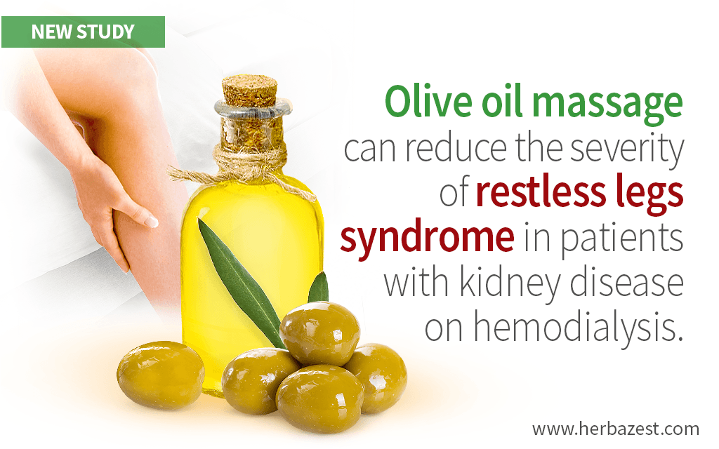 Olive Oil Massage Can Reduce the Severity of Restless Legs Syndrome