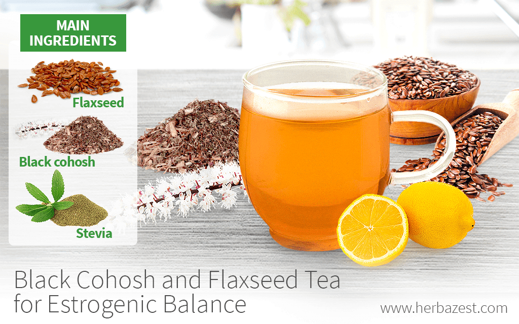 Black Cohosh and Flaxseed Tea for Estrogenic Balance