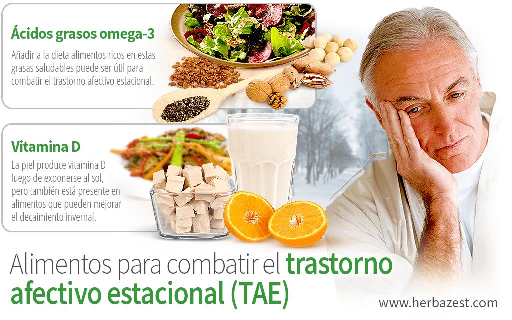 Alimentos para combatir el trastorno afectivo estacional