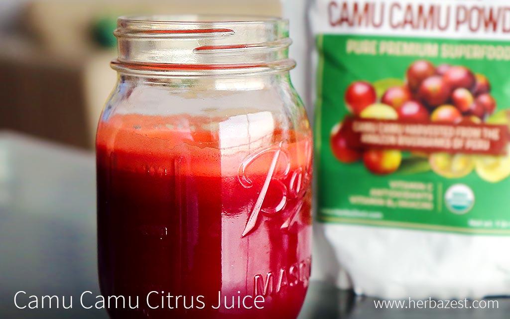 Camu Camu Citrus Juice