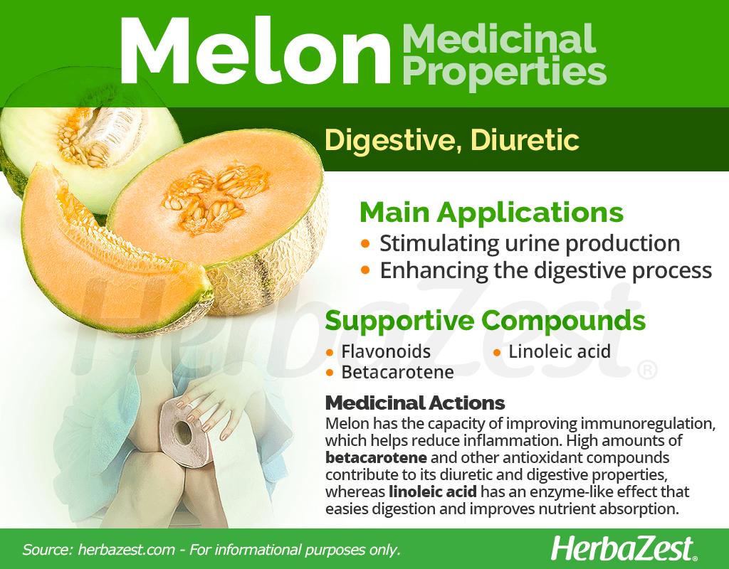 Melon Medicinal Properties