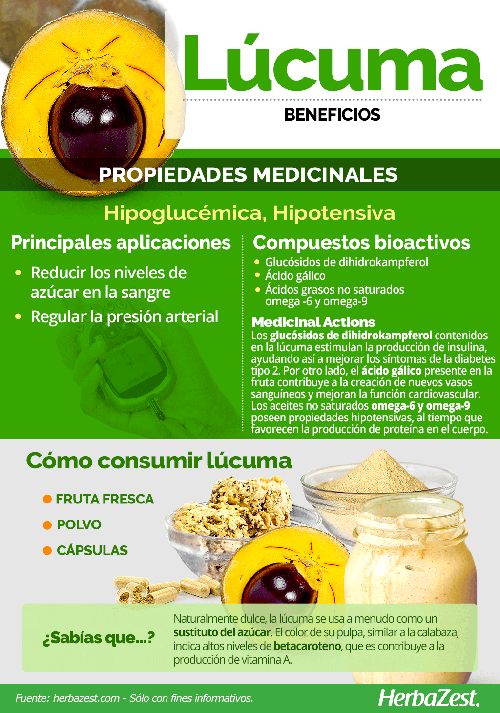 Beneficios de la lúcuma