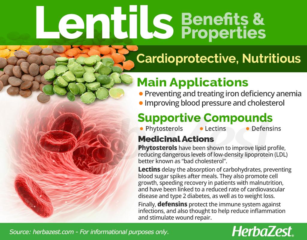 Lentils Benefits and Properties