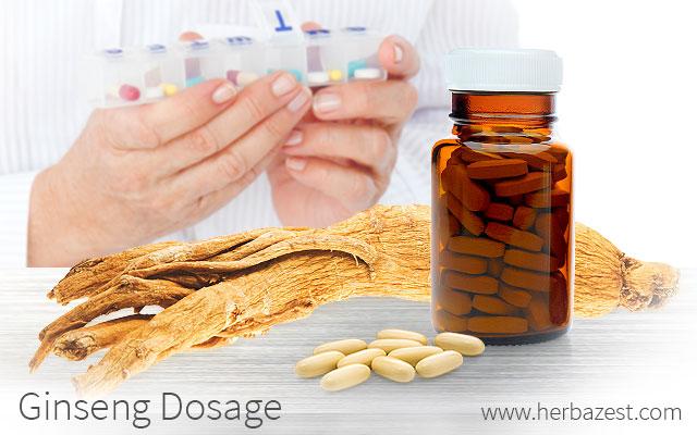 Ginseng Dosage