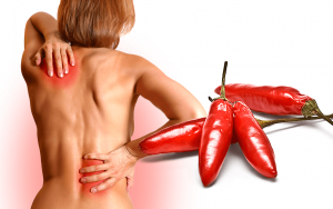 Capsaicin, found in chili peppers, can keep pain signals from reaching the brain.