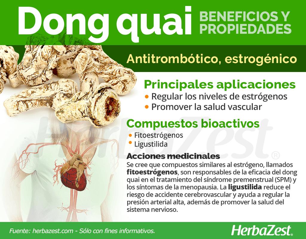 Beneficios y propiedades del dong quai
