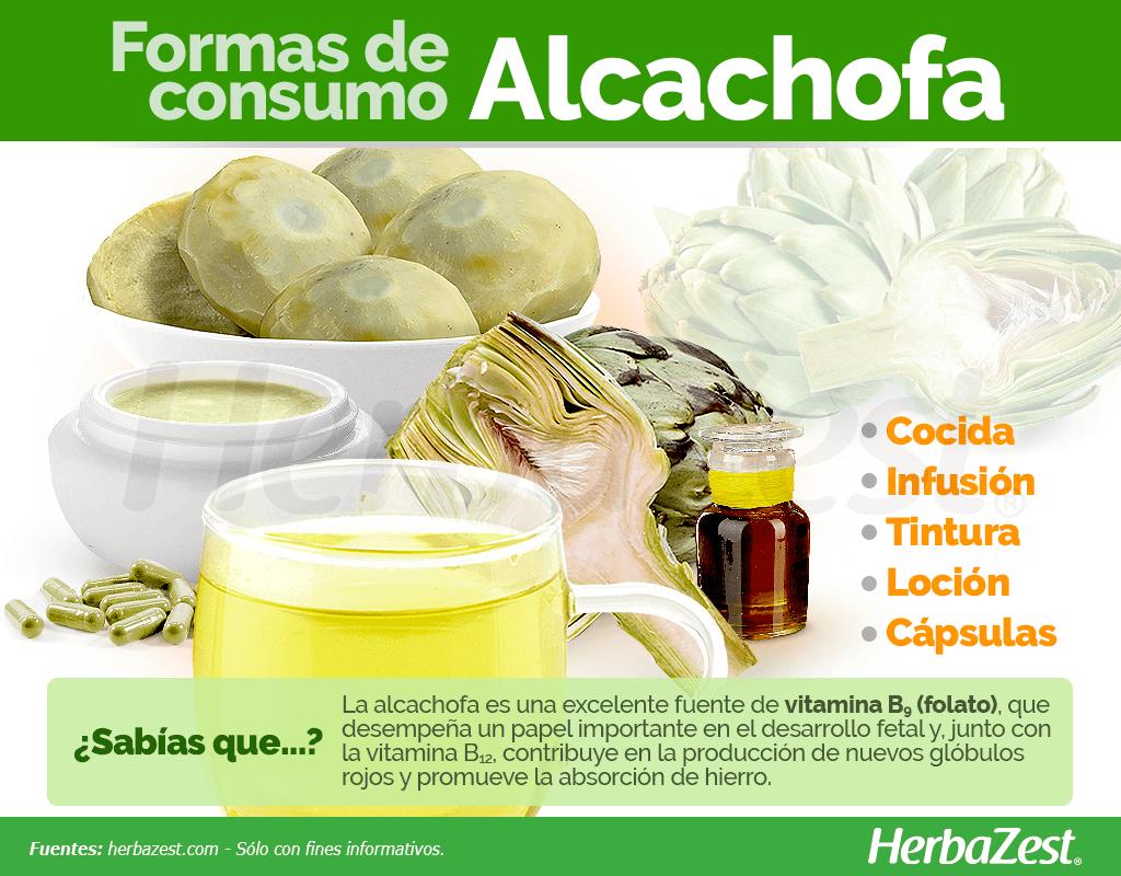 Cómo consumir alcachofa