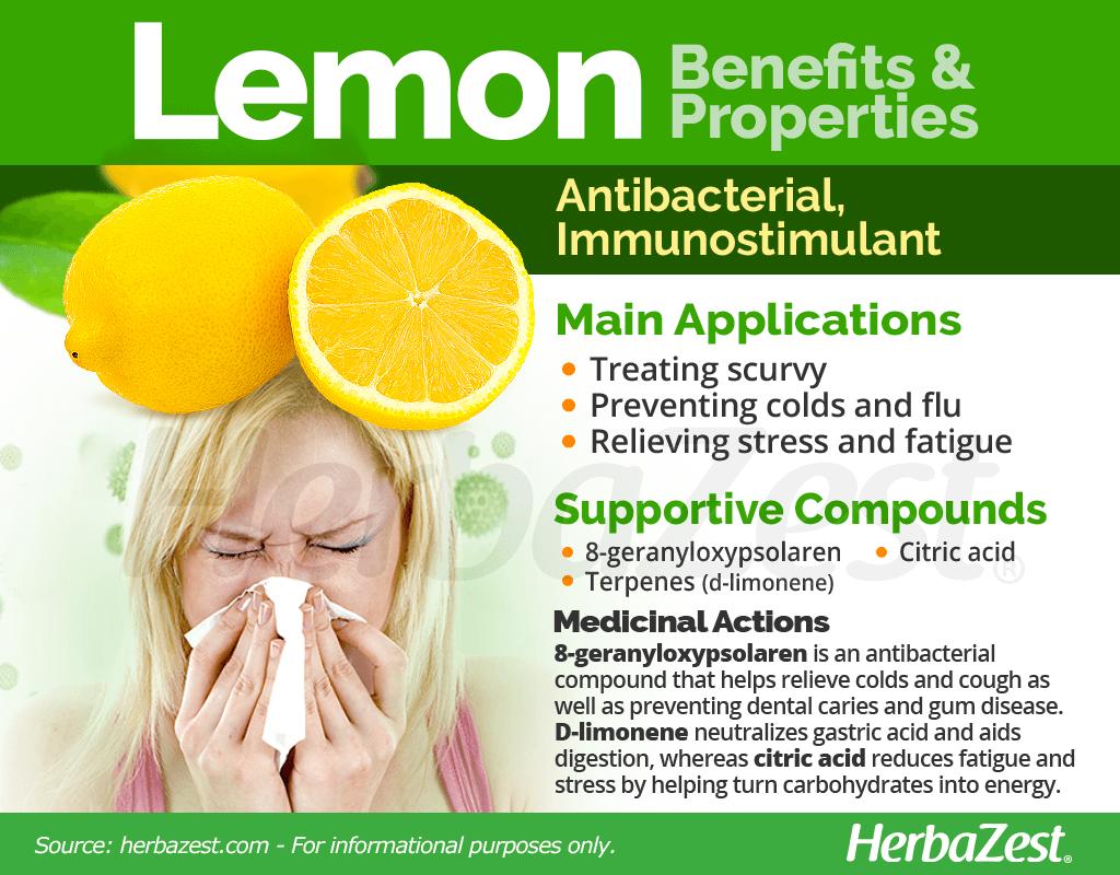Lemon Medicinal Properties