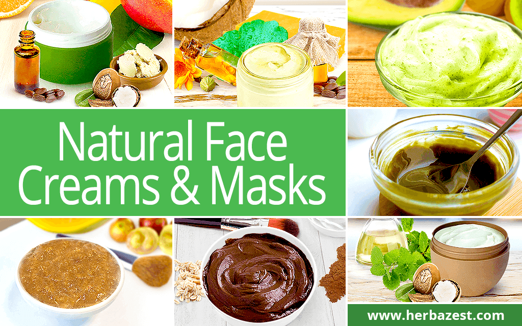 Natural Face Creams & Masks
