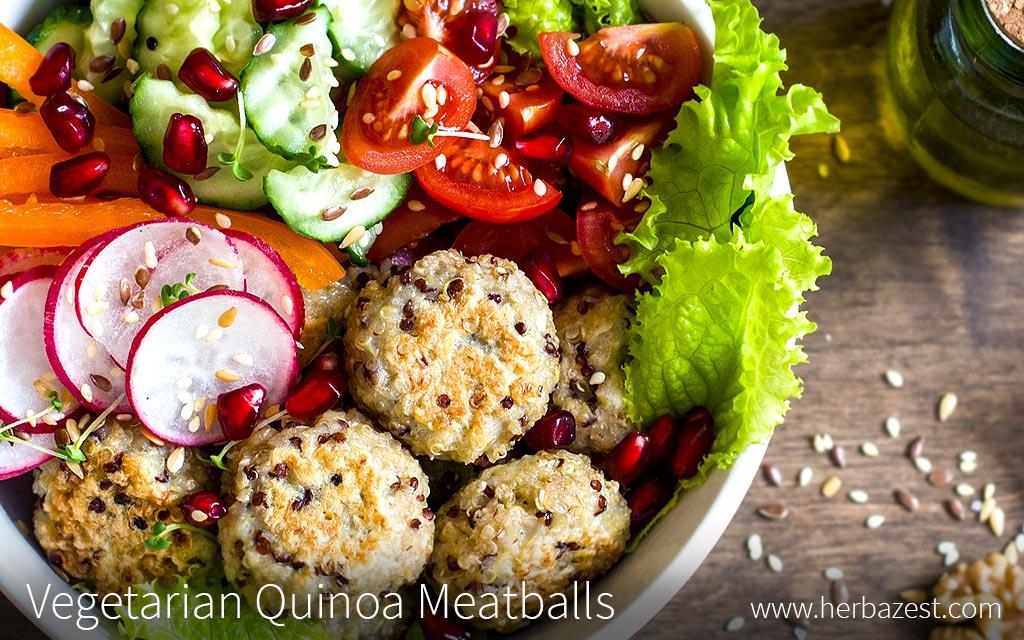 Vegetarian Quinoa Meatballs