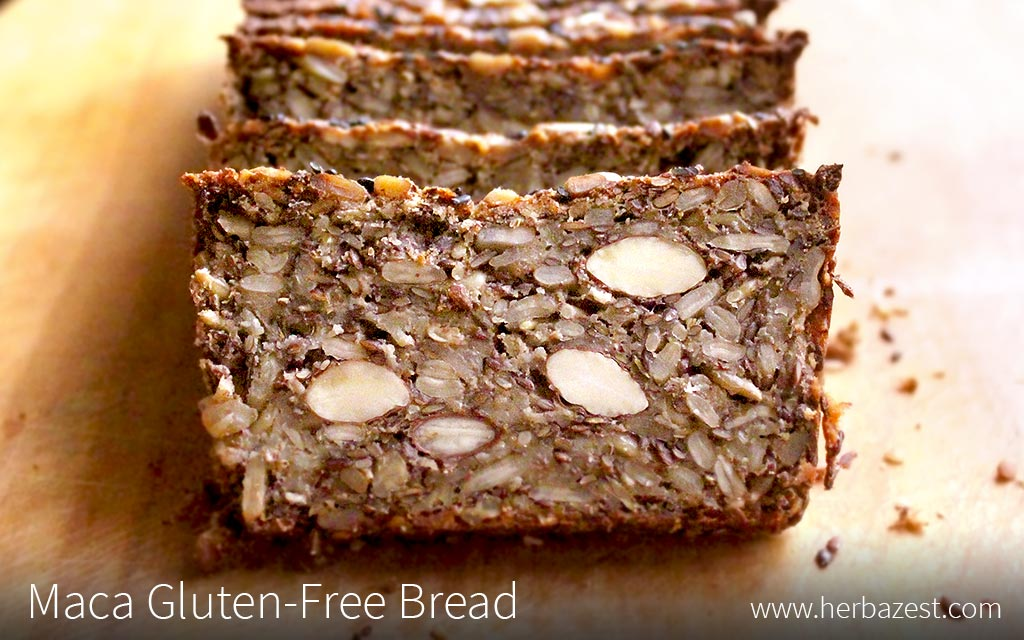 Maca Gluten-Free Bread