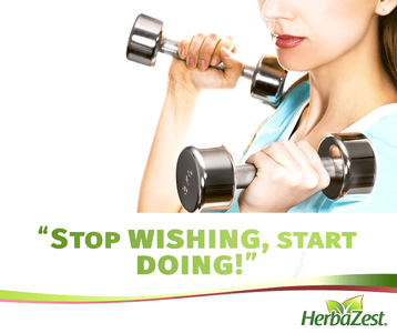 Quote: Stop Wishing and Start Doing