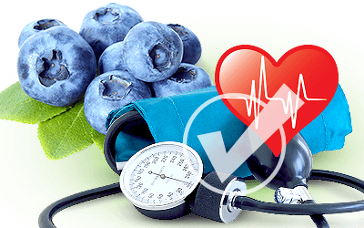 Blueberry anthocyanin's dose-dependent benefits on vascular function proved by study