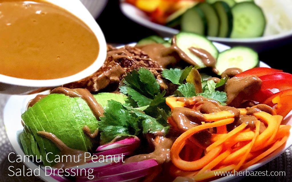 Camu Camu Peanut Salad Dressing