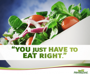 Quote: You Just Have to Eat Right
