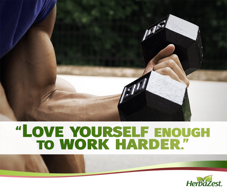 Quote: Love Yourself Enough to Work Harder