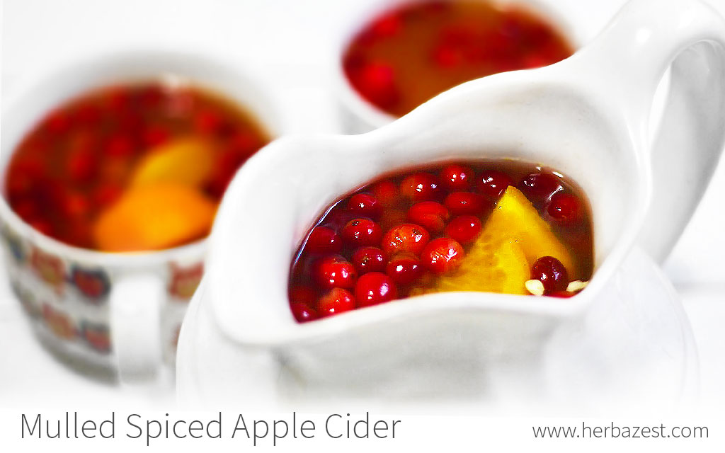Mulled Spiced Apple Cider