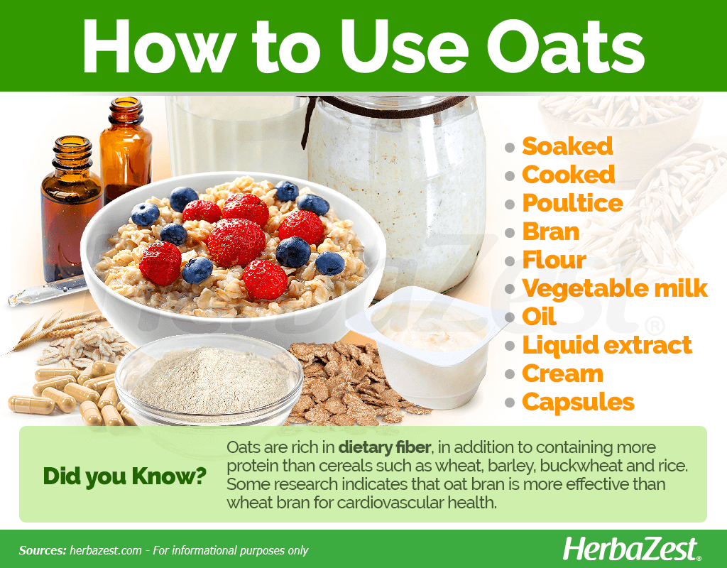 How to Use Oats