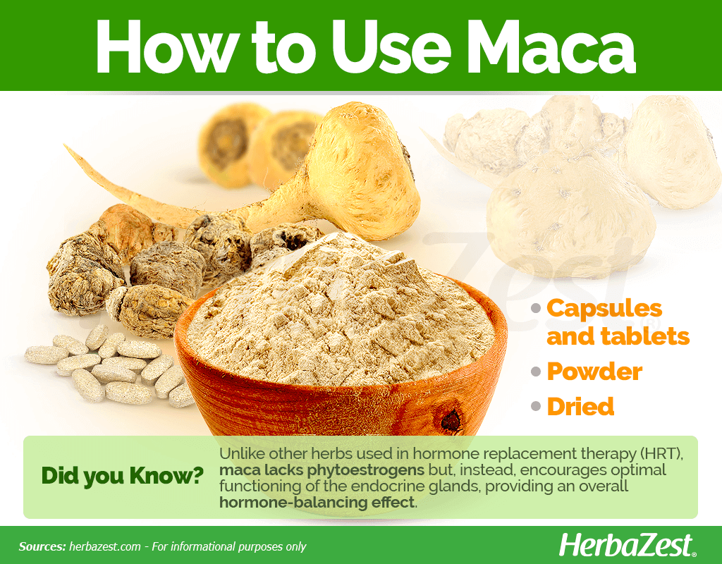 Maca How to Use
