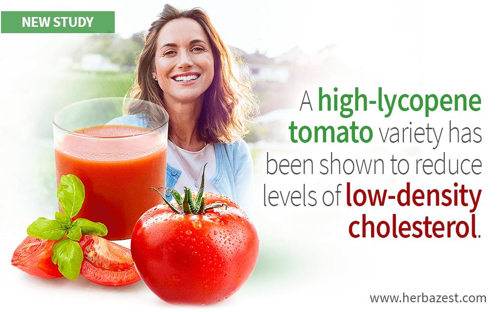 Tomato's Lycopene Shown to Improve Lipid Metabolism