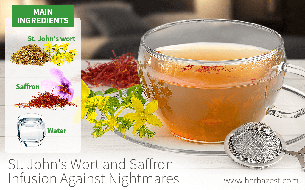 St. John's Wort and Saffron Infusion Against Nightmares