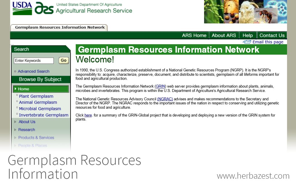 Germplasm Resources Information