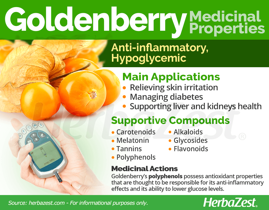 Goldenberry Medicinal Properties