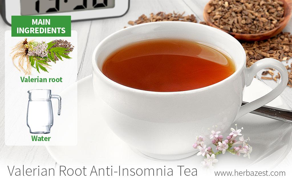 Valerian Root Anti-Insomnia Tea