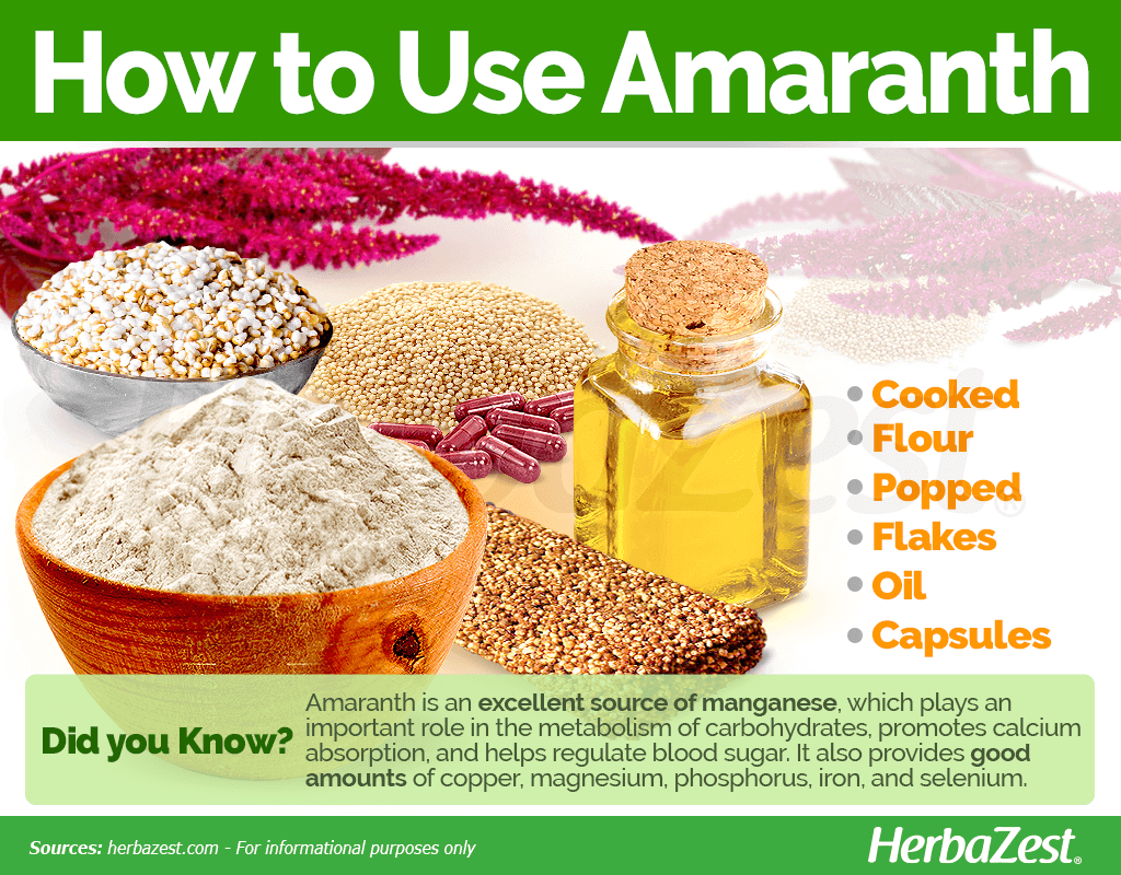 How to Use Amaranth
