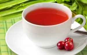 Cranberry and Celery Tisane for Treating UTIs