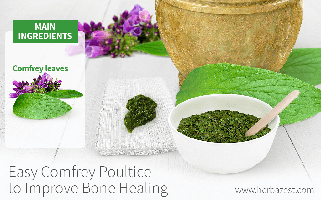 Easy Comfrey Poultice for Splinters