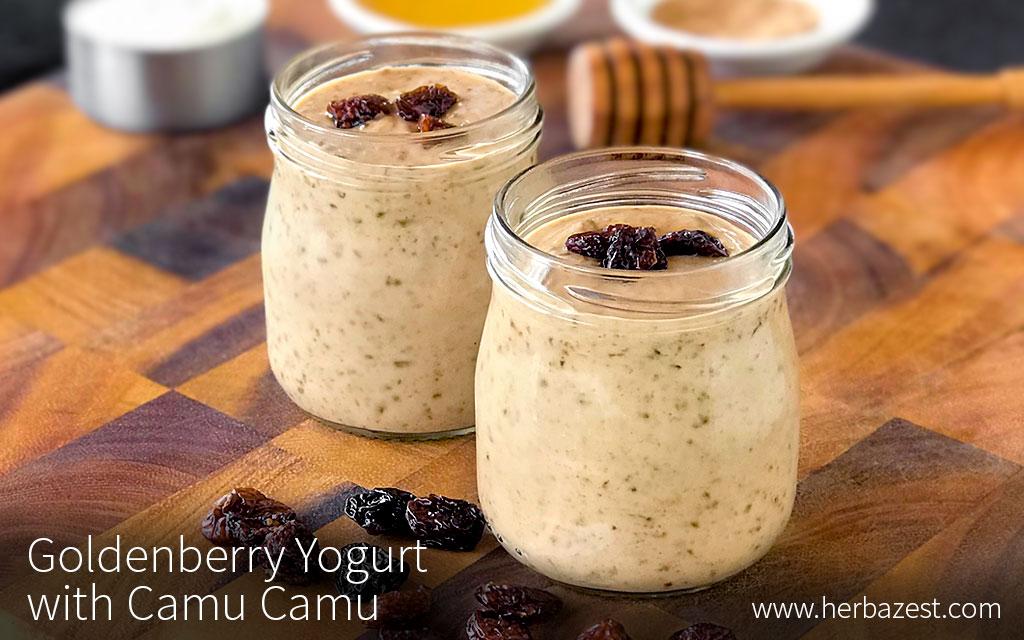 Goldenberry Yogurt with Camu Camu