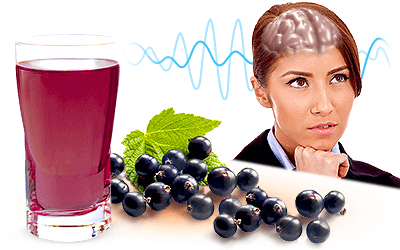 Blackcurrant Juice Shown to Reduce Anxiety and Boost Brain Function