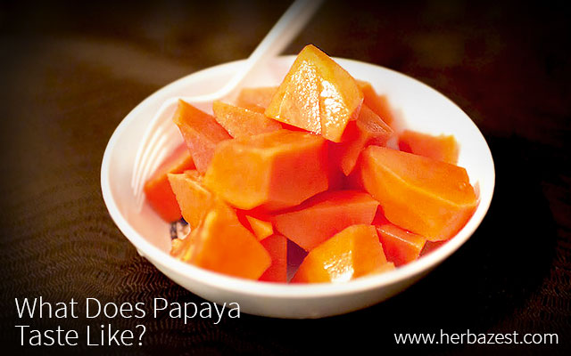 What Does Papaya Taste Like?