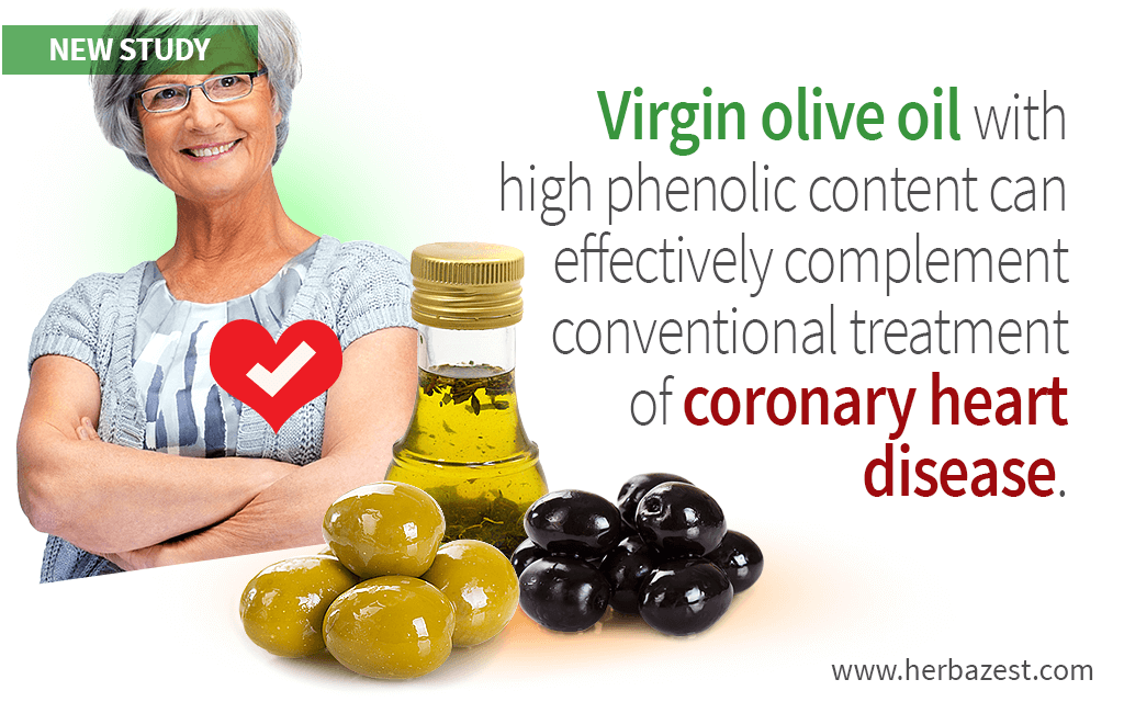Olive Oil as a Complementary Treatment for Coronary Heart Disease