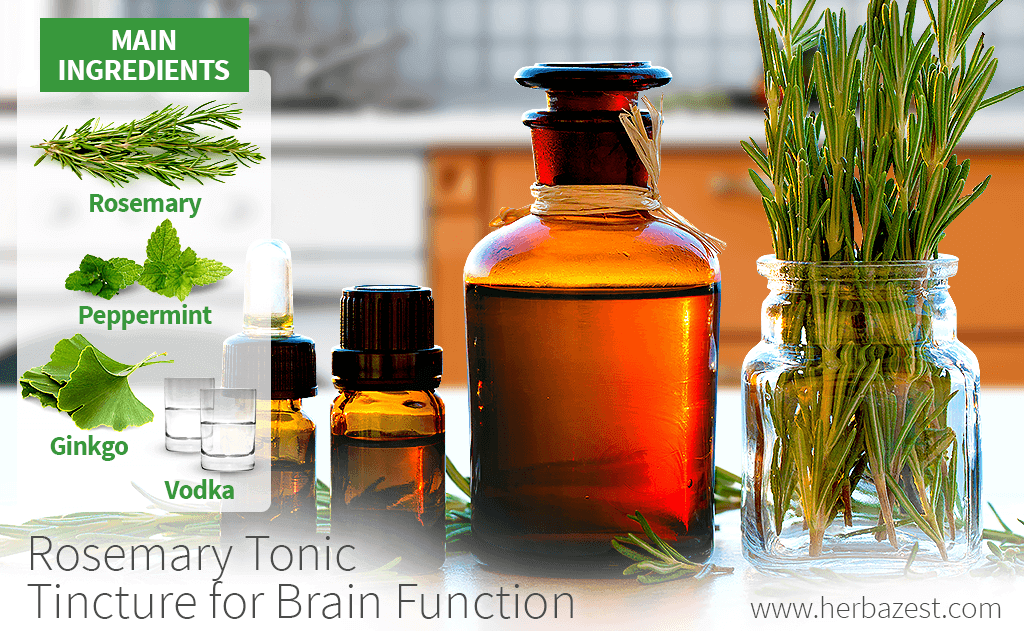 Rosemary Tonic Tincture for Brain Function