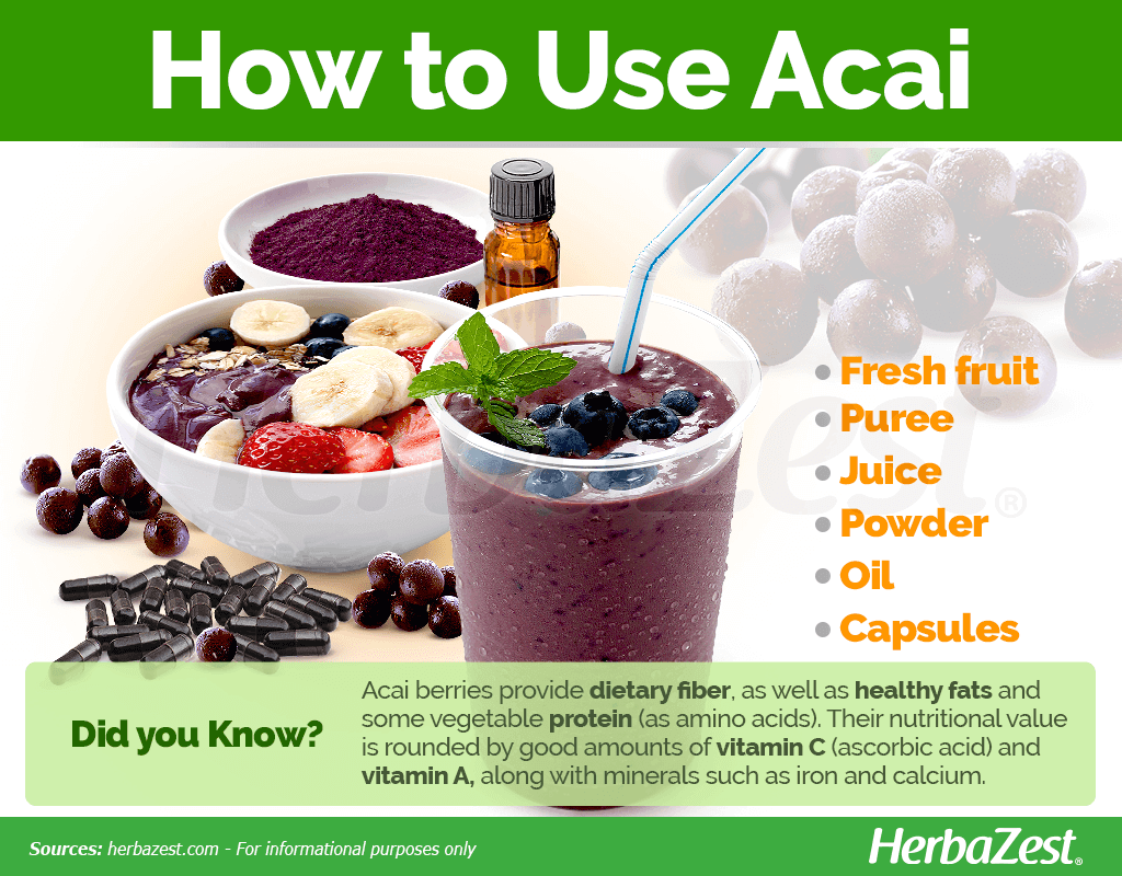 How to Use Acai
