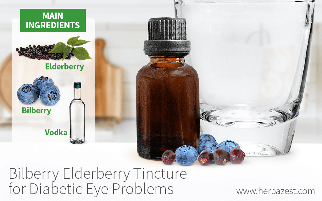 Bilberry Elderberry Tincture for Diabetic Eye Problems