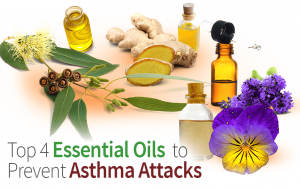 Top 4 Essential Oils to Prevent Asthma Attacks
