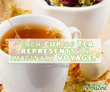Quote: Each Cup of Tea Represents an Imaginary Voyage