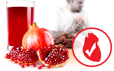 Pomegranates and Dates Are a Strong Pairing for Heart Health, Study Says