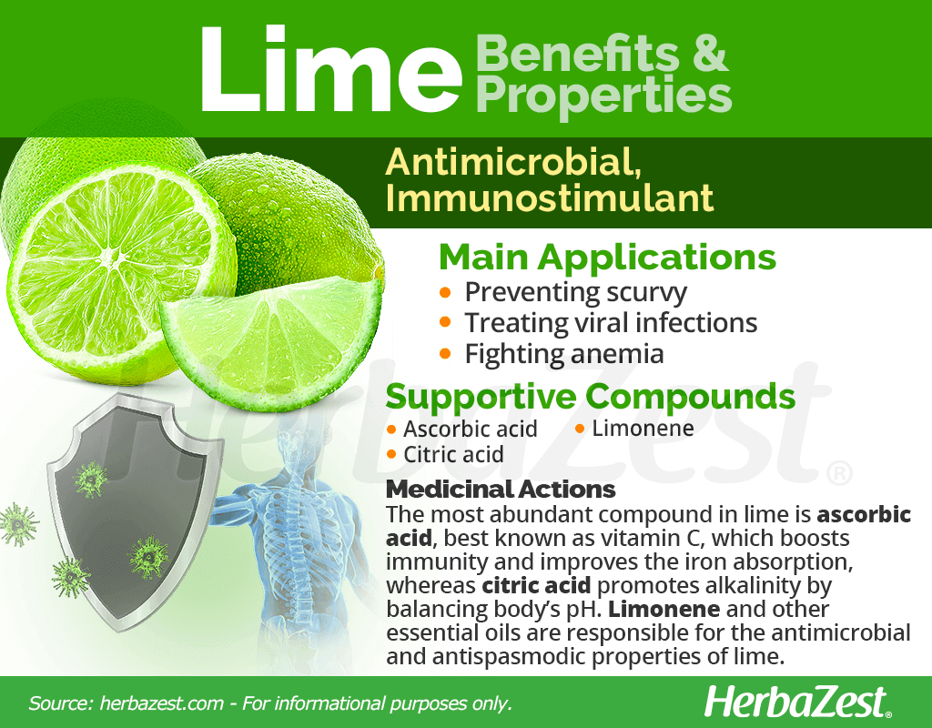 Lime Benefits and Properties