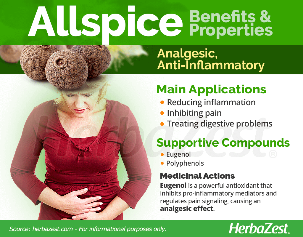 Allspice Benefits and Properties