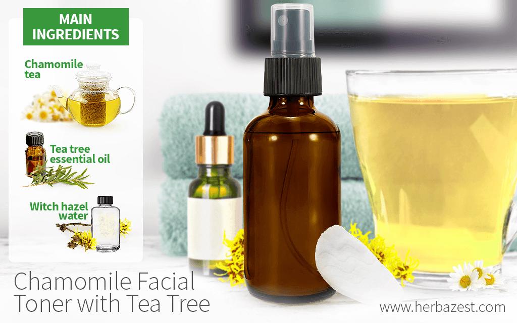 Chamomile Facial Toner with Tea Tree