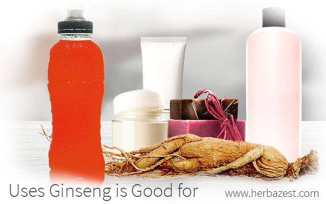 Uses Ginseng is Good for