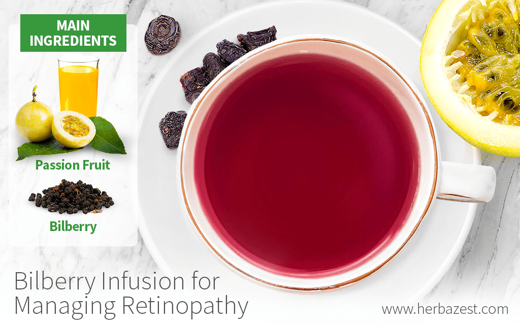 Bilberry Infusion for Managing Retinopathy