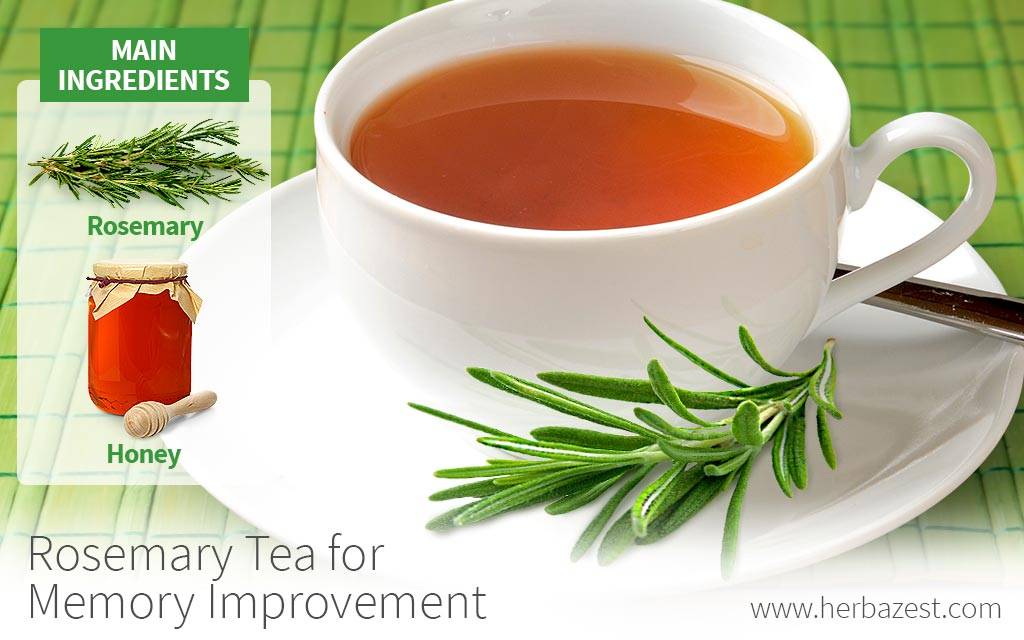 Rosemary Tea for Memory Improvement