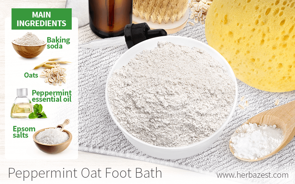Peppermint Oat Foot Bath