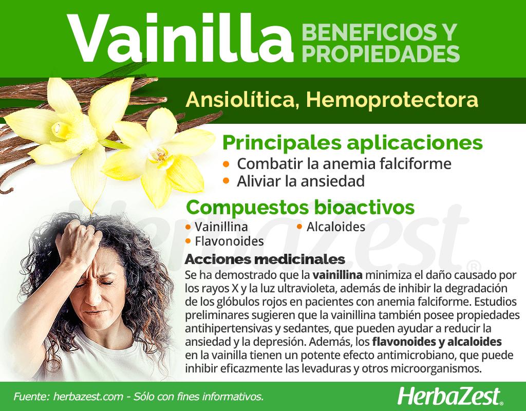 Beneficios y propiedades de la vainilla