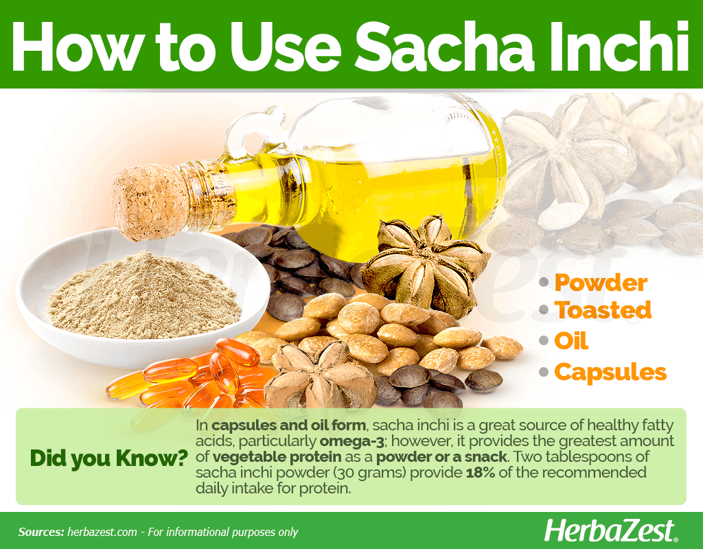 How to Use Sacha Inchi